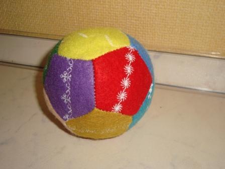 Как сделать мячик своими руками