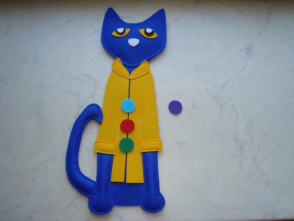 кот из фетра своими руками
