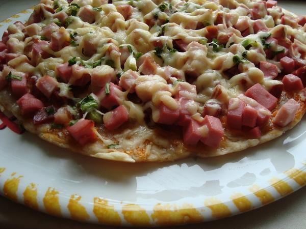рецепт пиццы на огуречном рассоле.